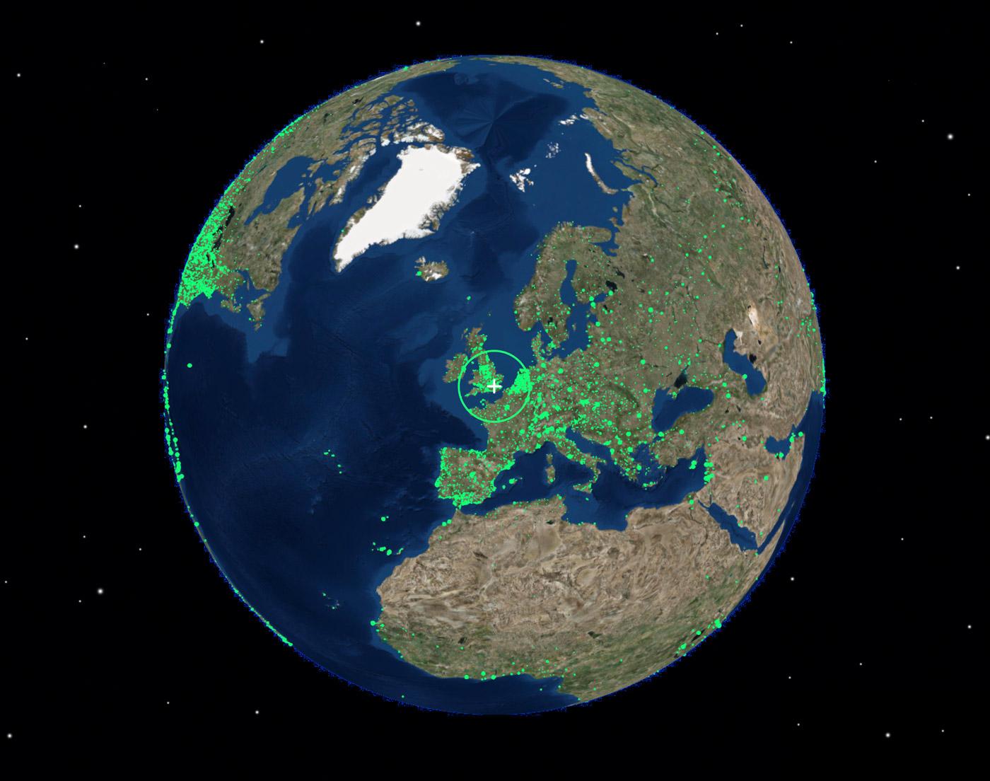 Radio Garden • eine Weltkarte des Radios