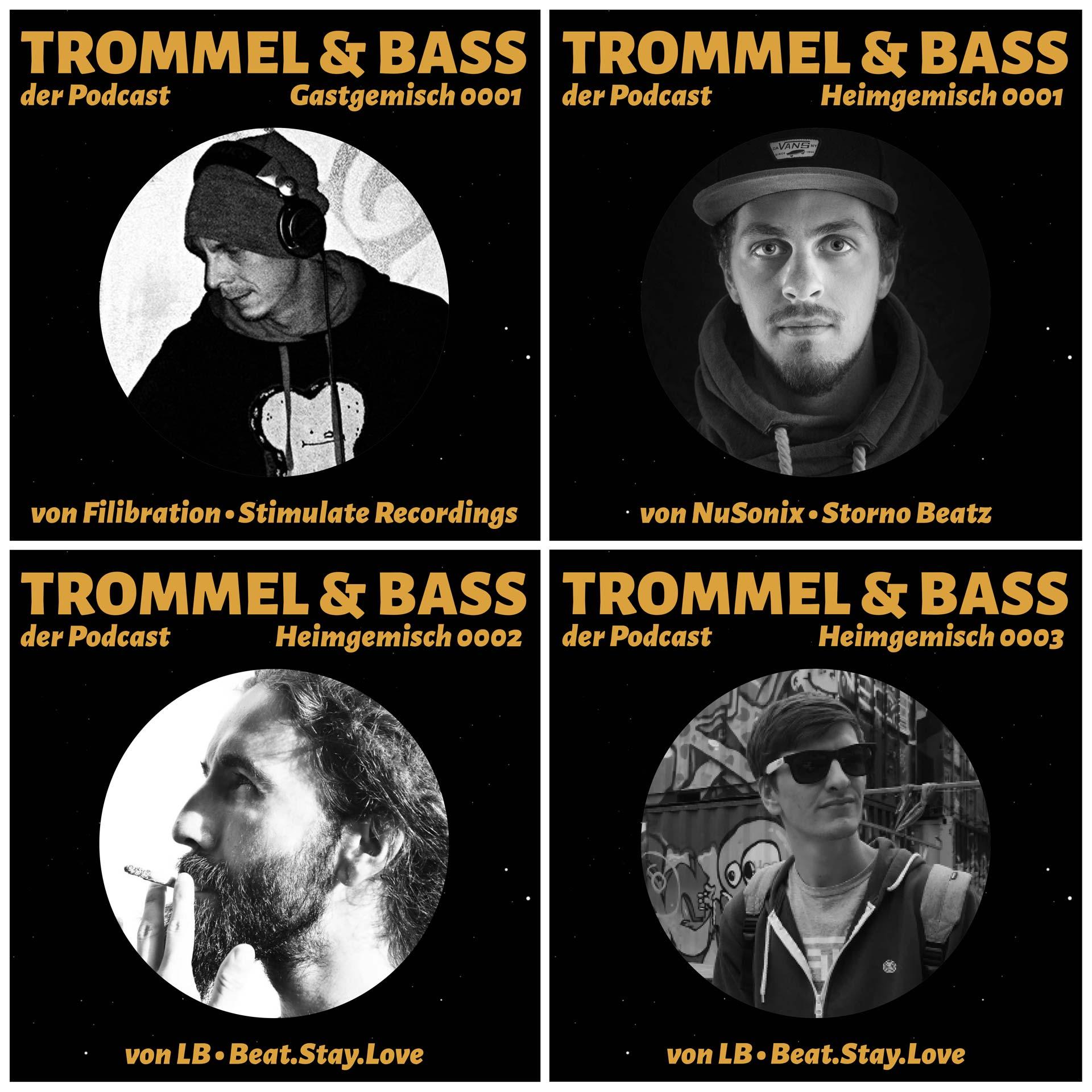 Trommel & Bass als Podcast abonnieren