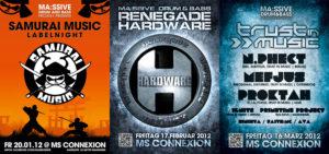 Plakate-Massive-samurai_trustinmusic_renegade_hardware