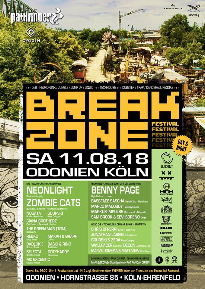 Breakzone Festival 2018 (Day & Night)
