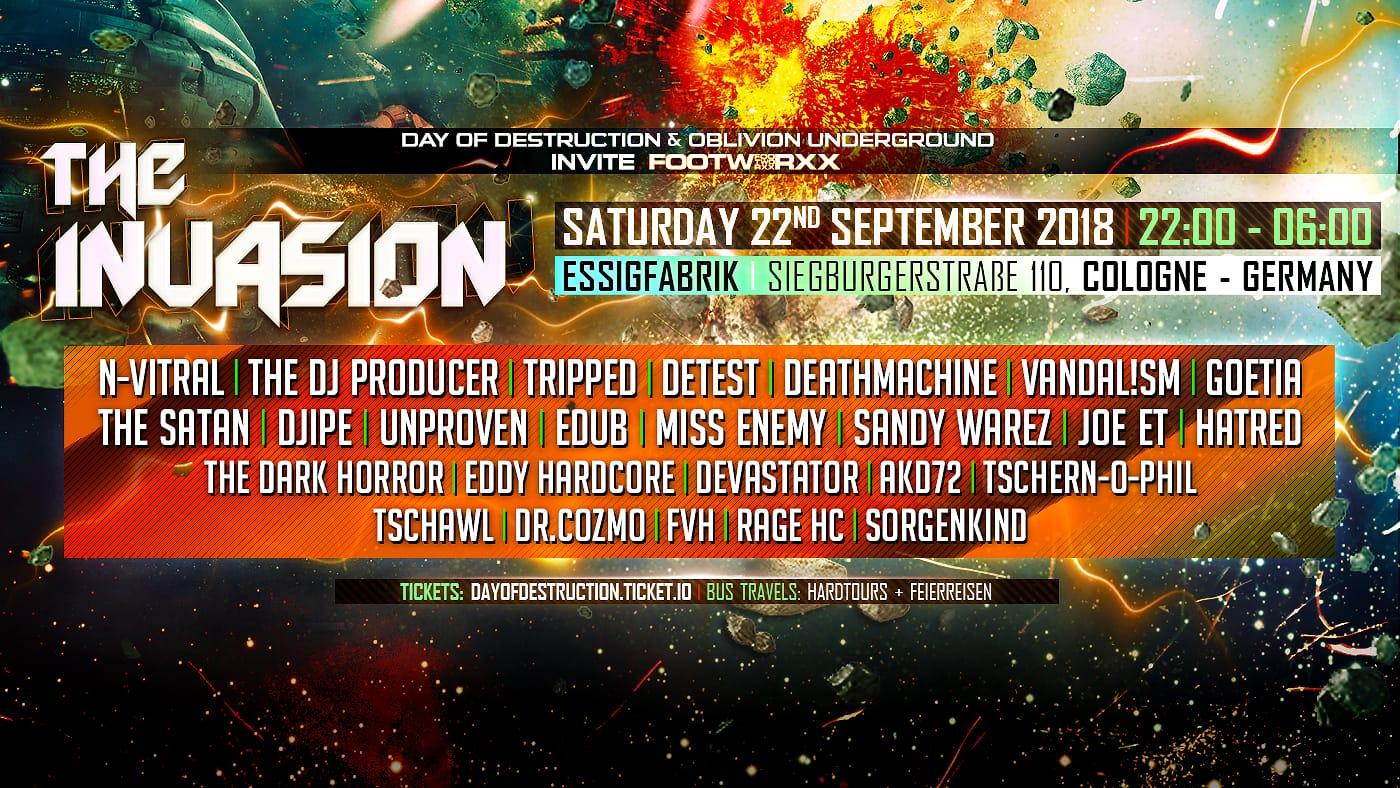 Day of Destruction & Oblivion Underground – Ftwxx: The Invasion