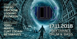 VOID Berlin Psytrance Drum and Bass Techno