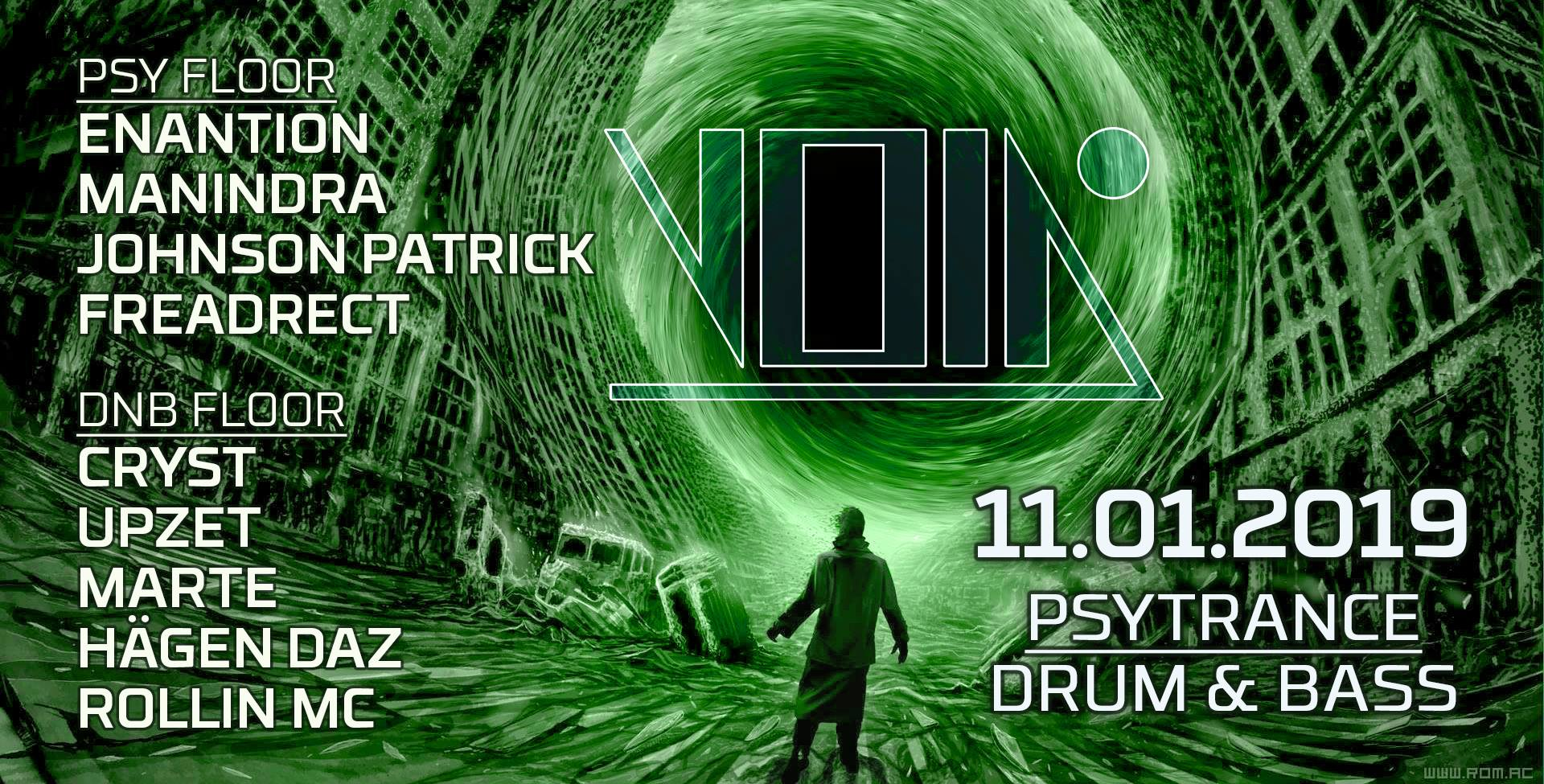 Enter the Void #27 (Psy / Dnb) at VOID Berlin