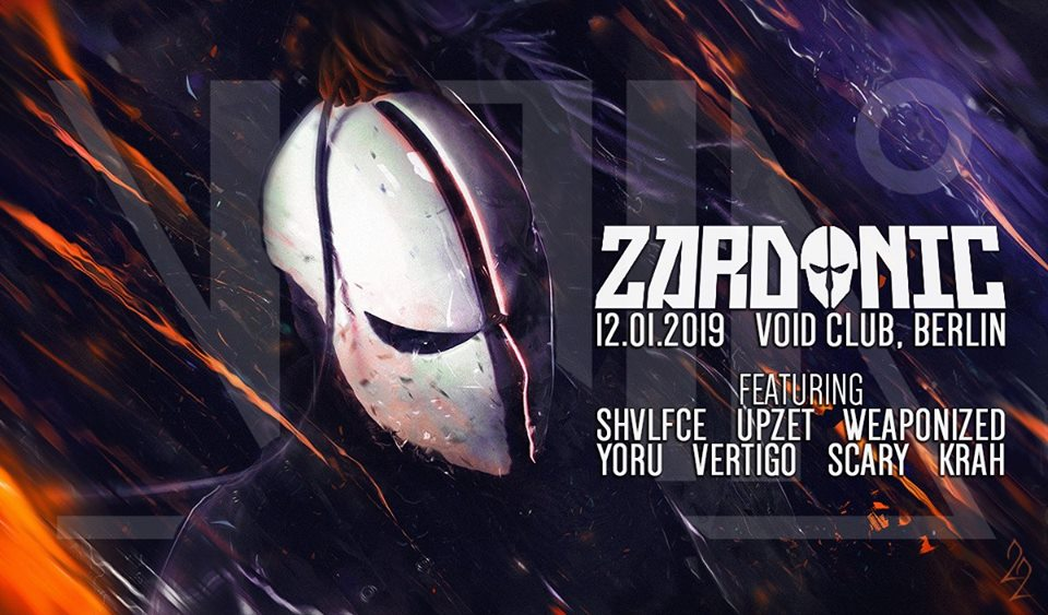 Zardonic -live- at VOID Club, Berlin