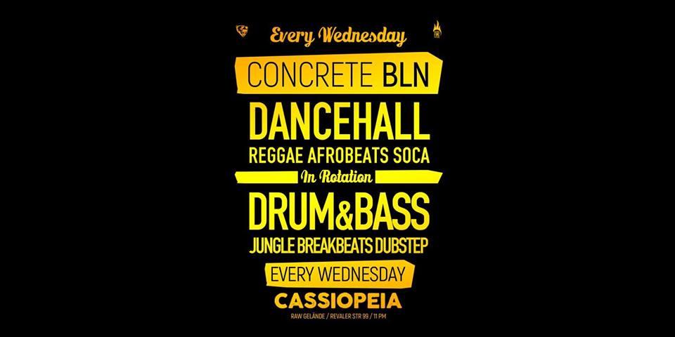 Concrete BLN – Dancehall vs Drum'n'Bass