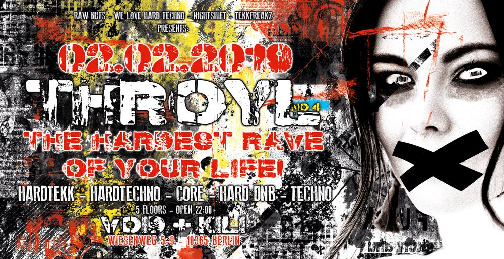 The Hardest Rave Of Your Life #4 // 5 Floors
