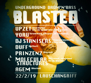 blasted dnb drum and bass lauschangriff berlin