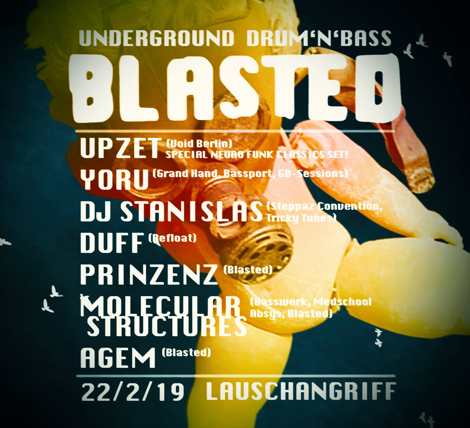 Blasted – underground drum'n'bass
