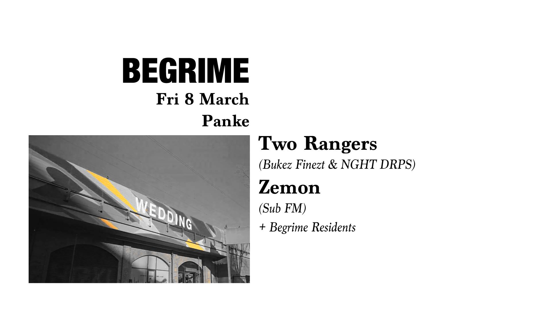 Begrime: Berlin Based DJ's Part 2