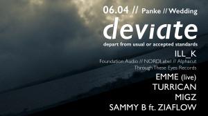 deviate panke drum and bass berlin dnb sammy b female artist