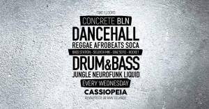 concrete bln dj bumblebee drum and bass berlin cassiopeia neurofunk