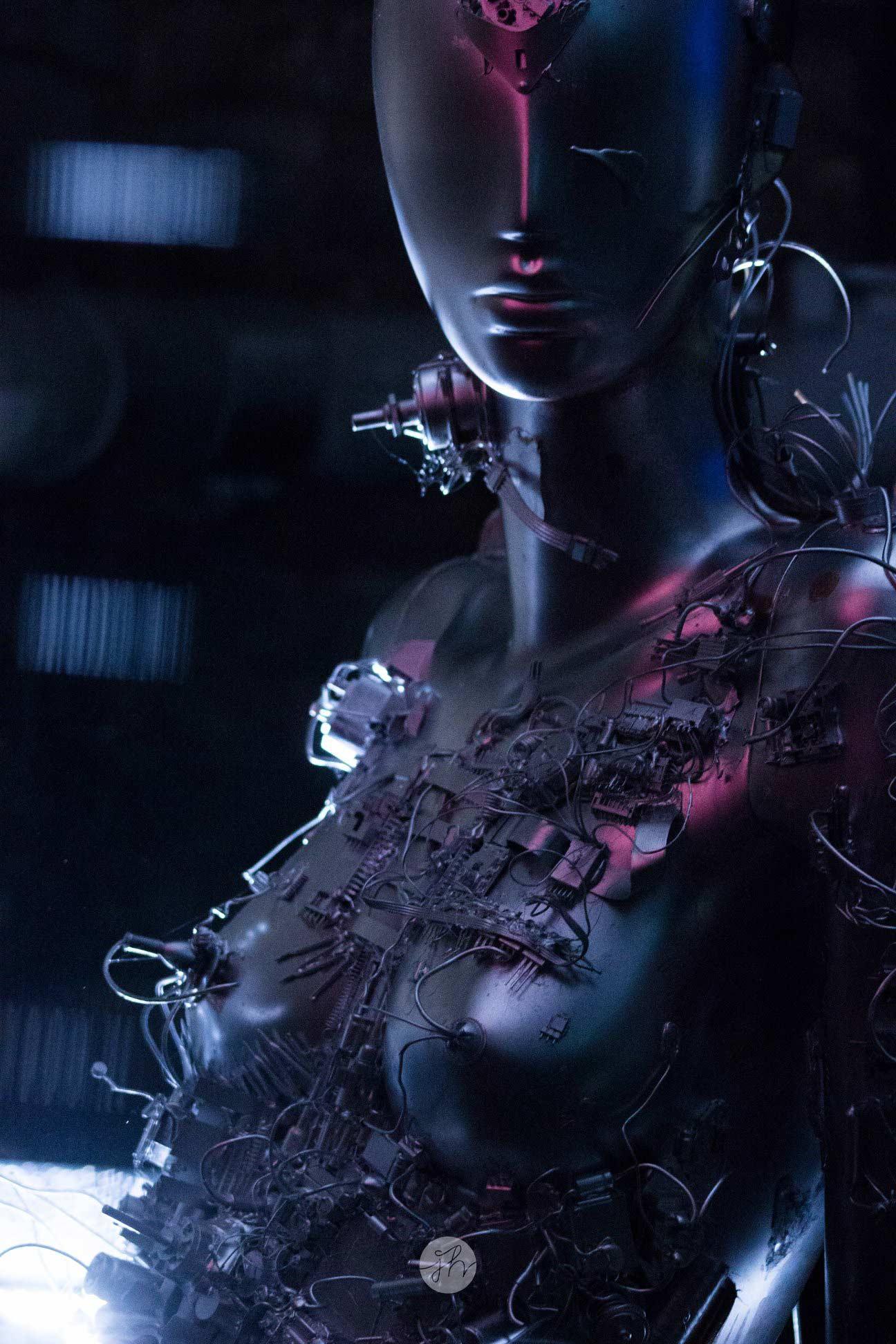 Berlins neue DnB-Fetenreihe Humanoid • Schlagabtausch mit Dominika