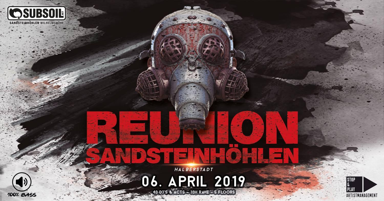 REUNION | Sandsteinhöhlen Halberstadt