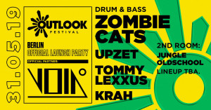 void berlin outlook festival zombie cats drum and bass neuro dnb
