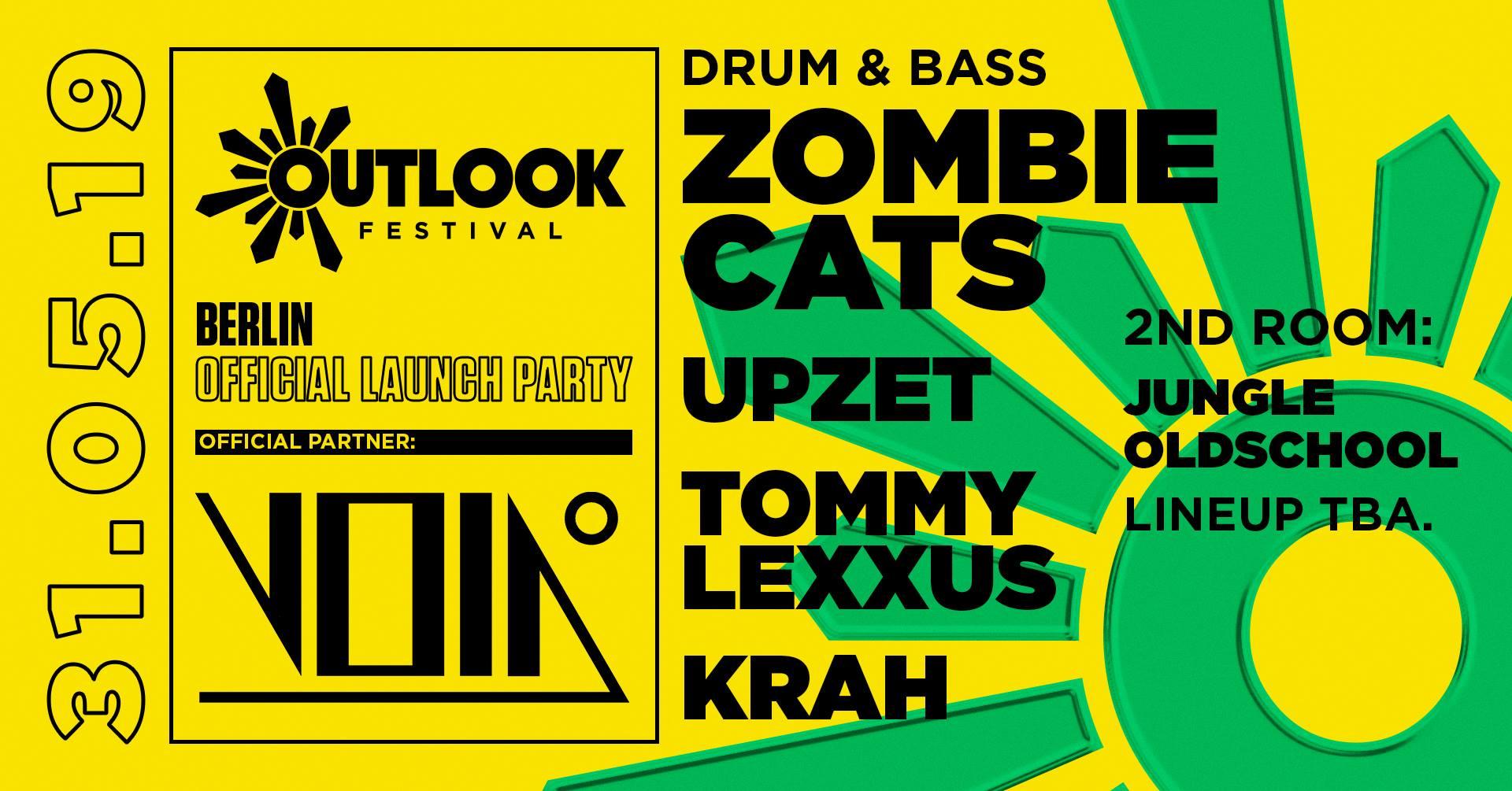 Berlin Outlook Festival Launch Party