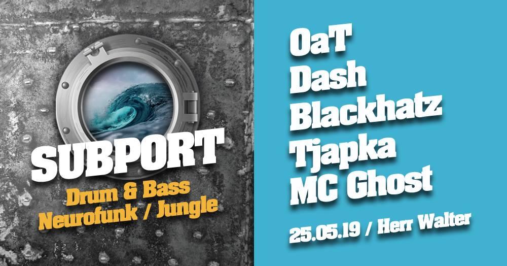 Subport – rogue waves / OaT, Dash, Blackhatz, Tjapka