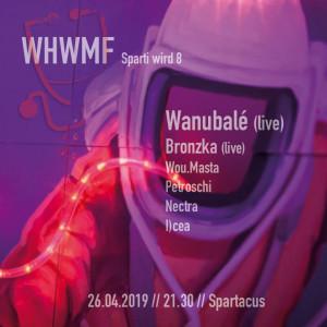 spartacus berlin potsdam dnb drum and bass wanubalé