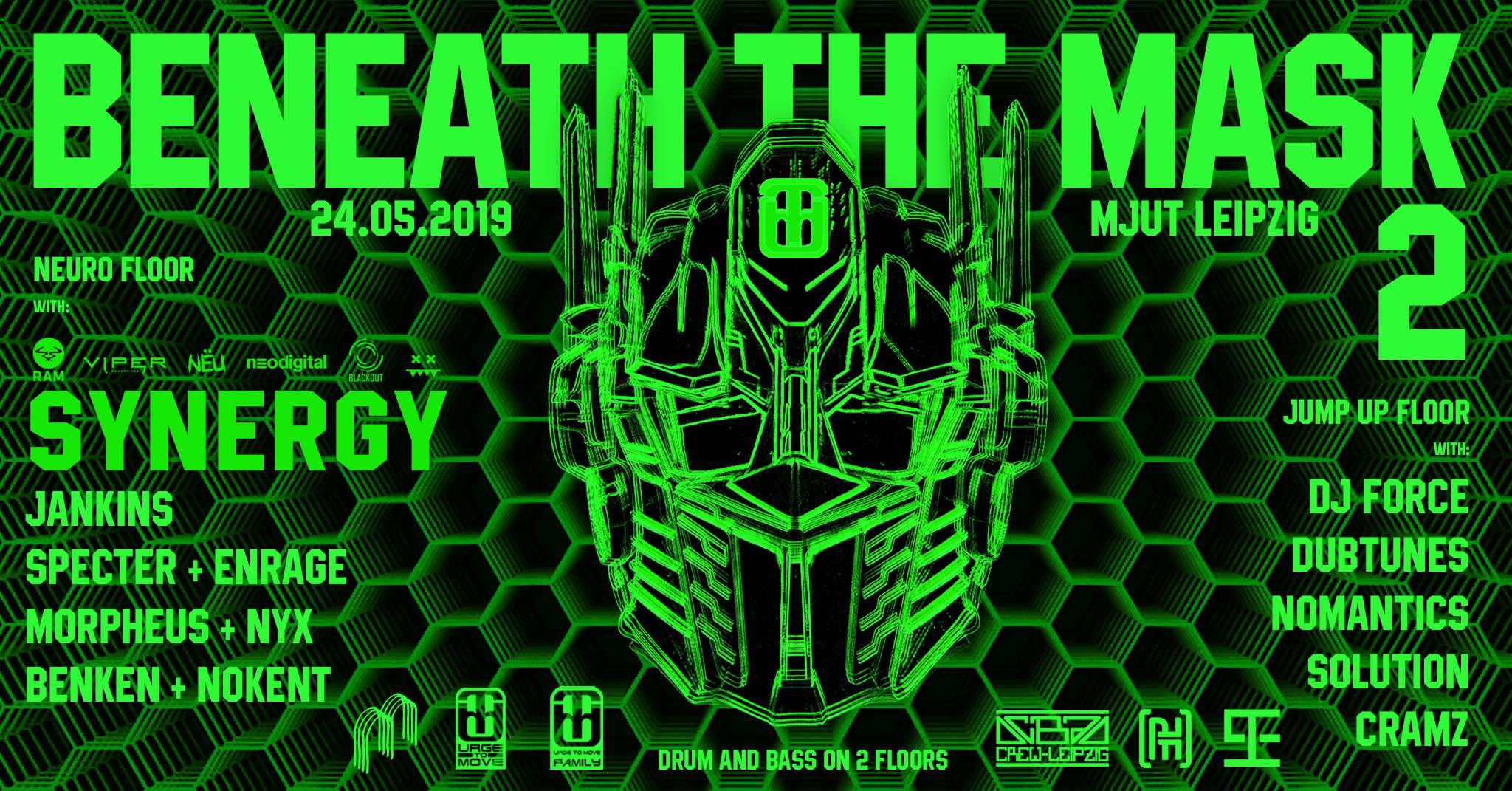 Beneath The Mask 2 w/ Synergy uvm.
