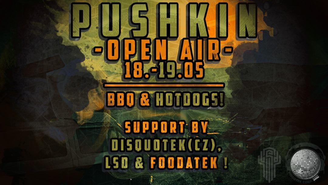 Pushkin Open Air with BBQ & Open Decks!!