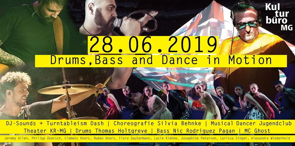 Drums, Bass and Dance in Motion | Ensemblia 2019
