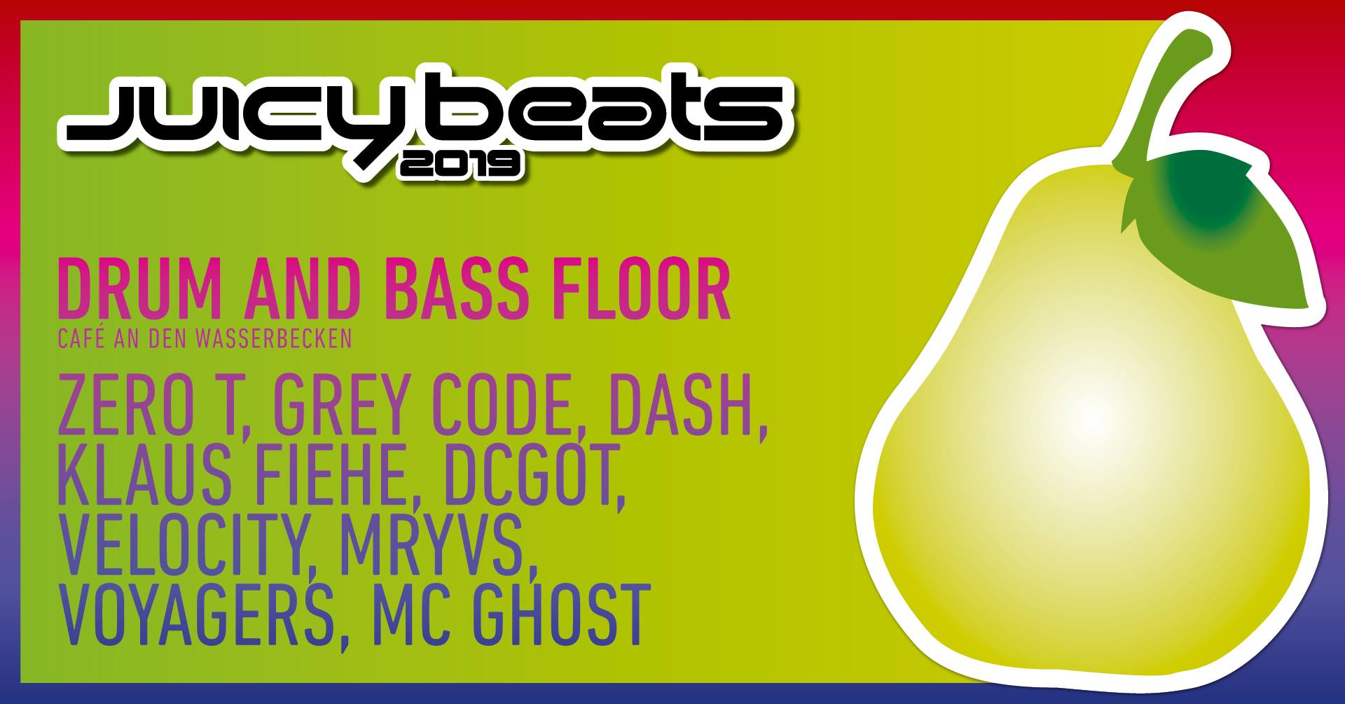 Juicy Beats 2019 – Drum and Bass Floor