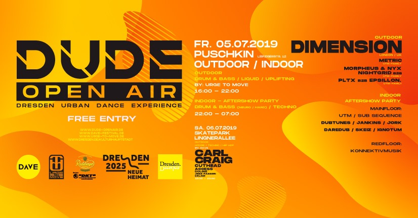 DUDE Open Air – Fr – Puschkin Out/Indoor w Dimension