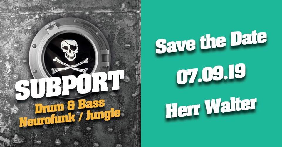 Subport – Skeleton Crew / Special Guest, Nogata, Dash, Lowmax