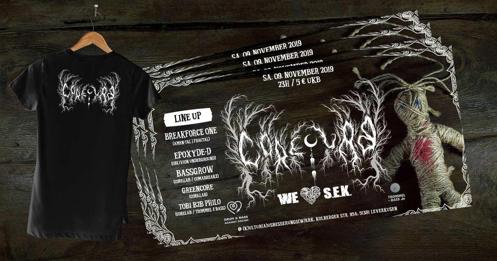 Gästeliste und Shirt für die Core:Lab VII gewinnen!