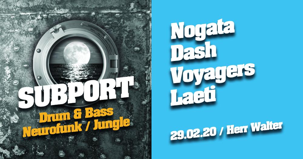 Subport – high tide / Drum&Bass / Nogata, Dash, Voyagers, Laeti