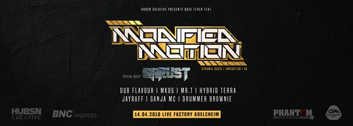 Hubsn Creative presents Bass Fever feat. Modified Motion
