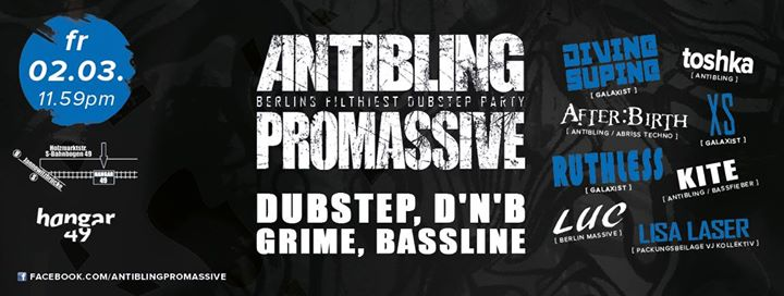 Antibling : Promassive pres. Divine Supine, XS and Ruthless