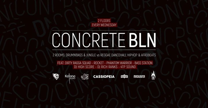 Concrete BLN w/ Dj Rocket Phantom Warrior Dirty Ragga Squad