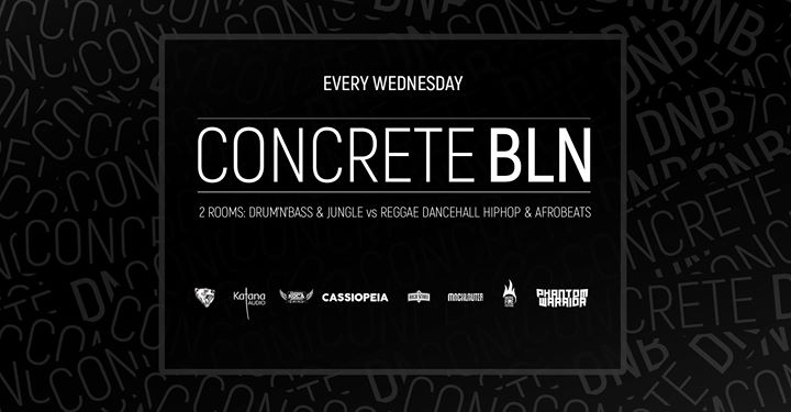 Concrete BLN w/ Dirty Plates Domski Phantom Warrior Bass Station