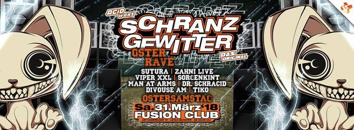 Schranzgewitter Oster Rave am Ostersamstag im Fusion Club