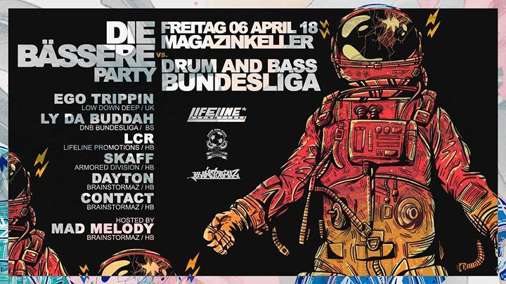 Die Bässere Party feat. Drum and Bass Bundesliga