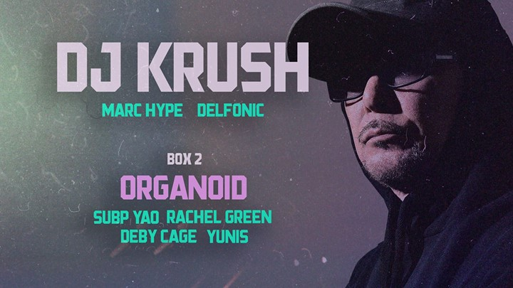 DJ Krush // Box2: Organoid 4.0