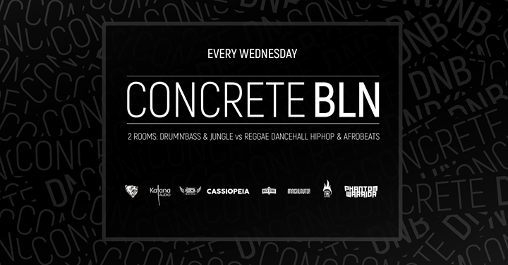 Concrete BLN w/ ARIES Dj Rocket Phantom Warrior Bass Station