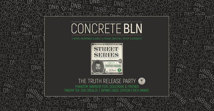Concrete BLN on 2 Floors – DnB & Jungle vs Reggae & Dancehall