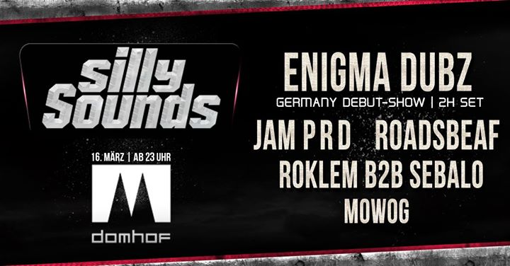Silly Sounds #1 w/ Enigma Dubz, Jam P R D, Roadsbeaf & more!