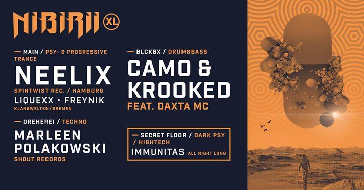 Nibirii XL: Neelix • Camo & Krooked • Marleen Polakowski