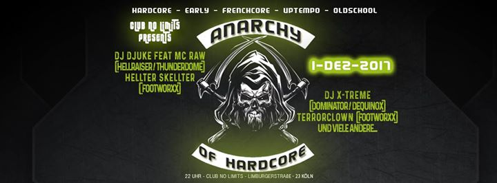 HEUTE Anarchy of Hardcore