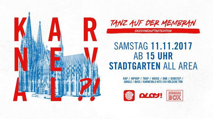Karneval?!? – Der Tanz auf der Membran 11.11.