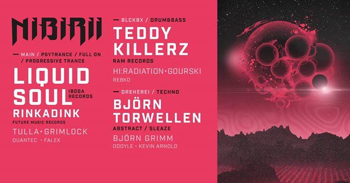 Nibirii: Liquid Soul & Rinkadink • Teddy Killerz • B. Torwellen