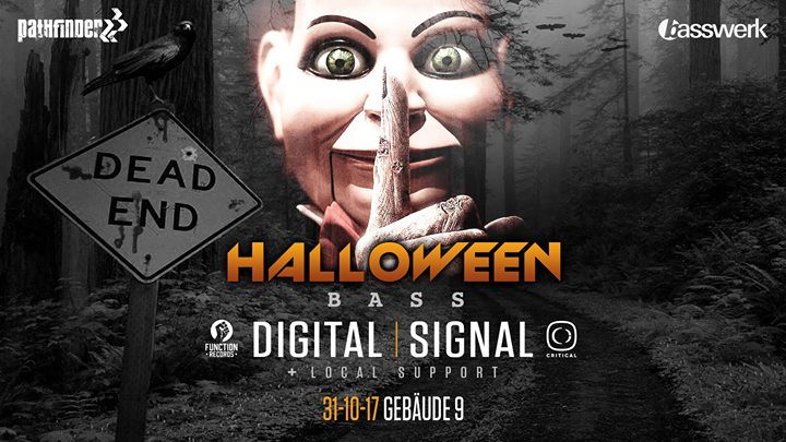 Tonight! Basswerk/Pathfinder / Digital/Signal – Halloween BASS