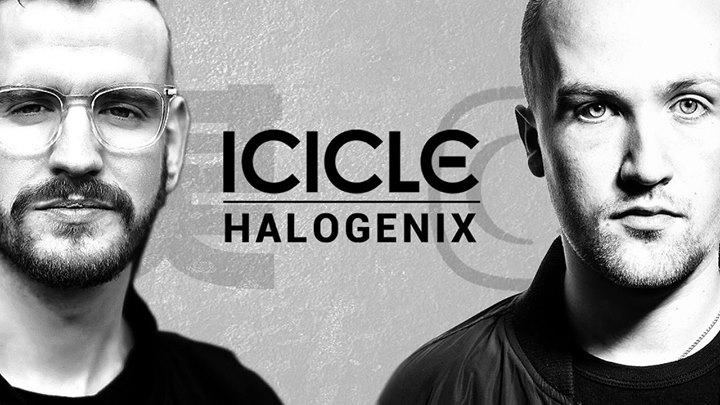Basskantine präsentiert Icicle & Halogenix