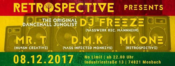RETROSPECTIVE PRESENTS 'DJ FREEZE'