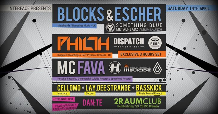 Interface Presents: Philth, Blocks & Escher hosted by MC Fava