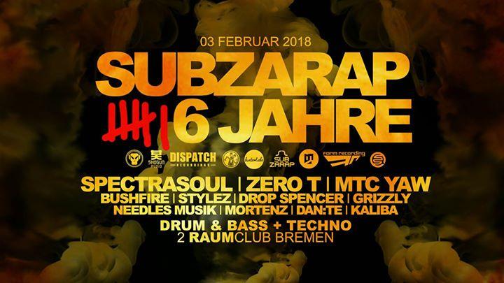 SubZarap 6 Jahre Special !