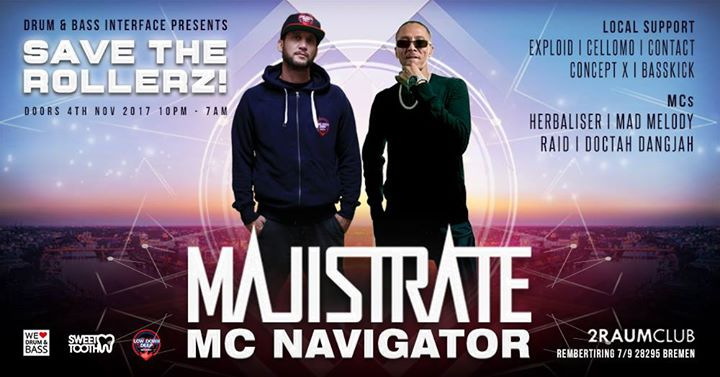 Save The Rollerz! feat. DJ Majistrate & MC Navigator