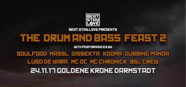 BSL presents 'The Drum & Bass Feast 2′